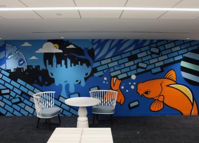 Идея для бизнеса: граффити офисов