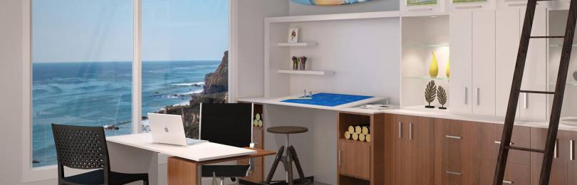 Обустройство офиса в частном доме — все за и против