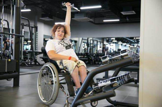 Занятия фитнесом для инвалидов