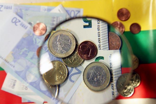 литовские деньги