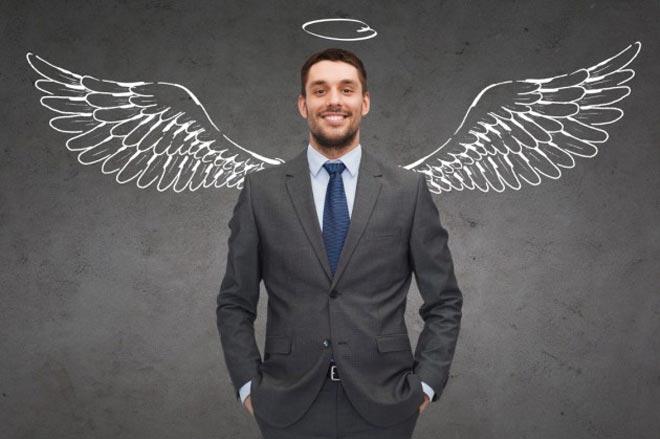 Мужчина бизнес-ангел
