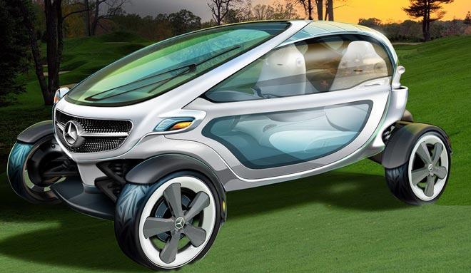 Инновационный гольф кар от Mercedes