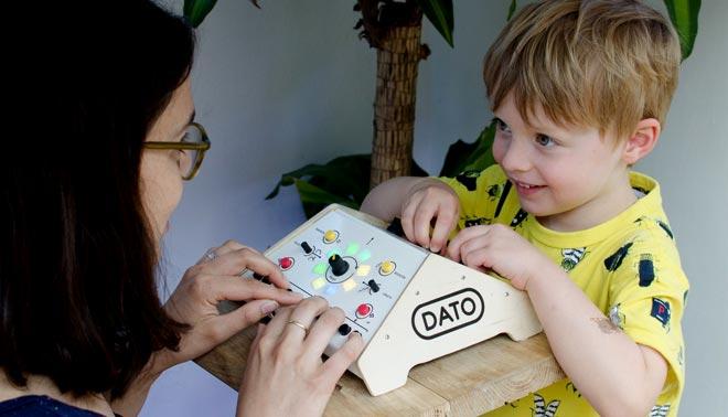 синтезатор для детей Dato Duo
