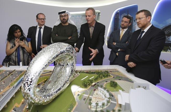Презентация музея будущего в Дубае