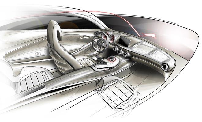 Создание концепт арта нового дизайна авто