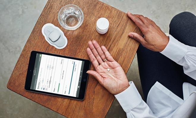 таблетки Proteus Digital Health