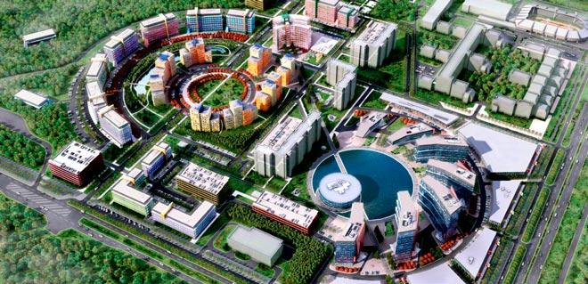Схематический план технопарка