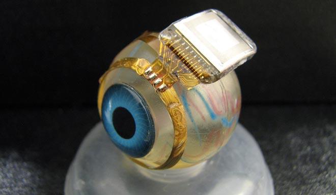 Биосовместимый имплантат для глаз