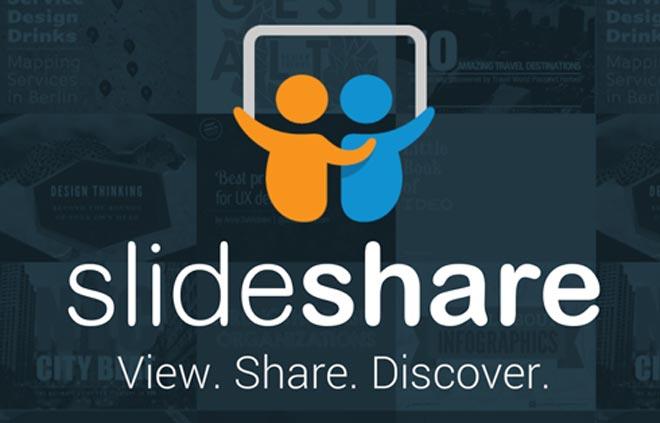 Логотип slide share