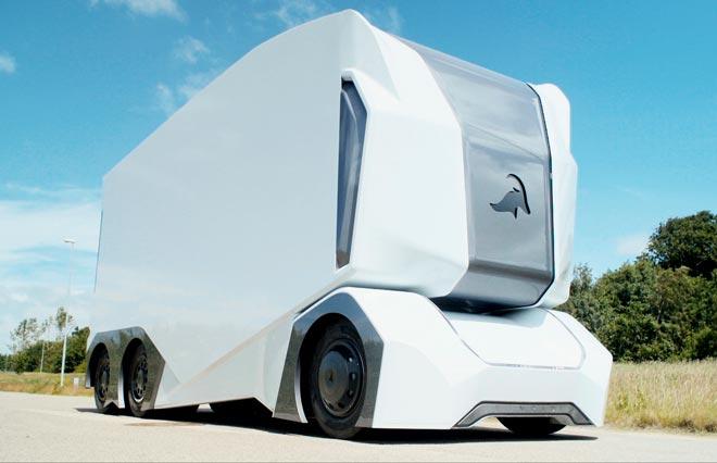 Беспилотный грузовик Einride