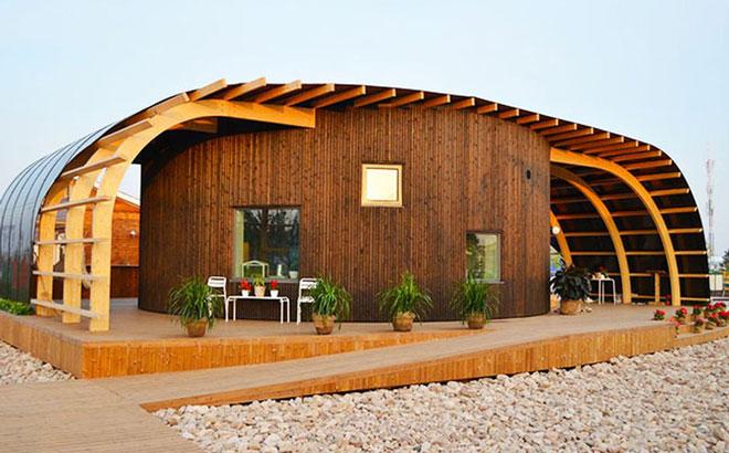 дом на солнечных батареях из Швеции