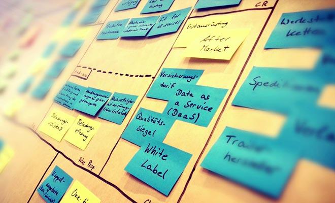 бизнес модель стартапа