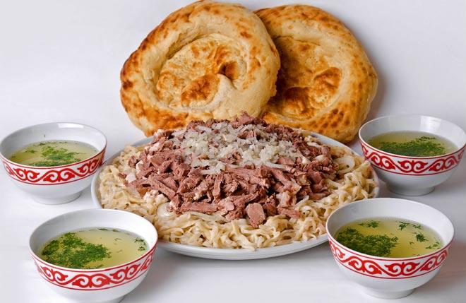 Казахстанский бешбармак