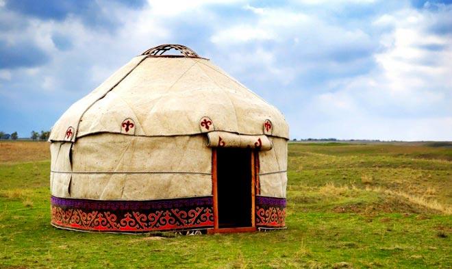Казахстанская юрта