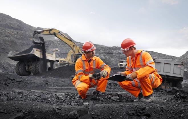 угольная добыча