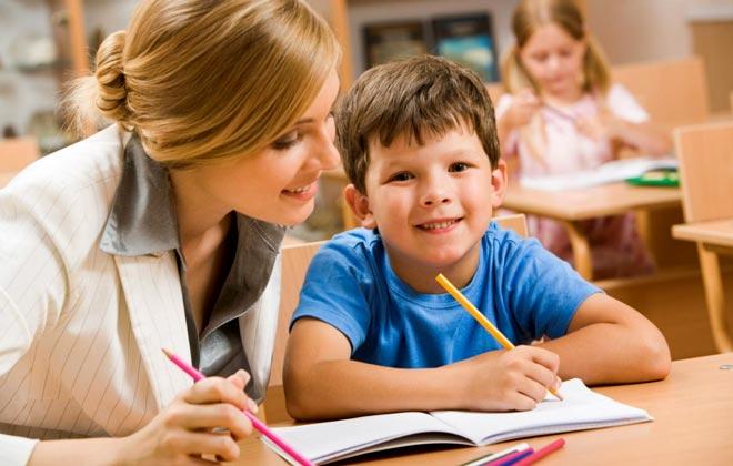 ведение урока в начальных класах