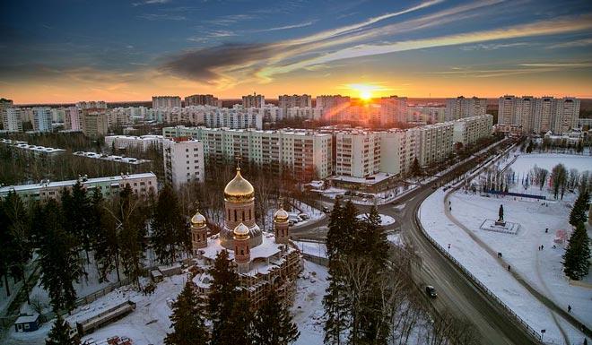 наукоград Краснознаменск