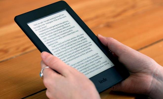 изобретение Amazon Kindle