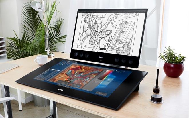 инновационный дисплей-тачпад Dell