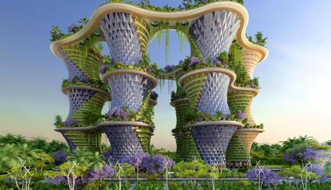 экологический инновационный город