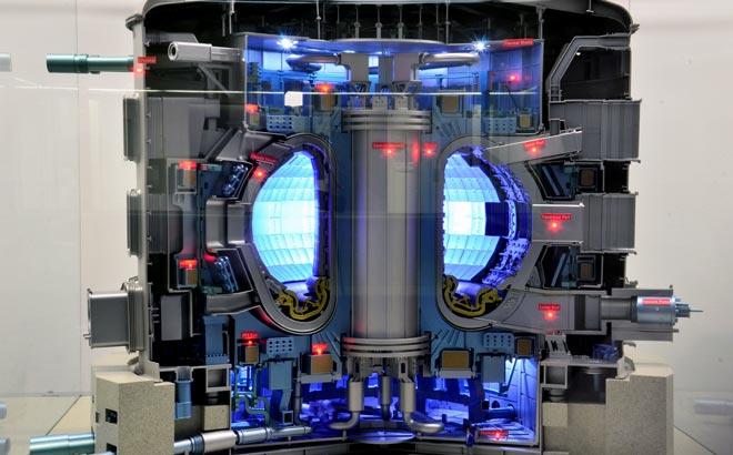 Термоядерный Реактор в разрезе