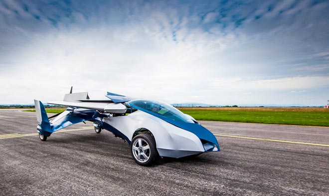 инновации AeroMobil