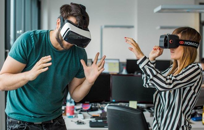 устройства виртуальной реальности